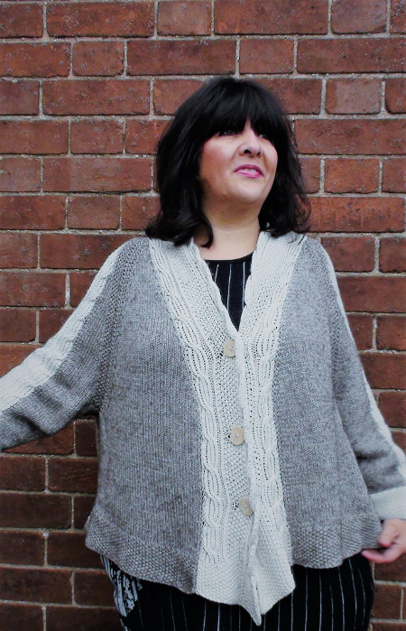 Belinda Harris Reid Design Collection Majesty Hand Knitted